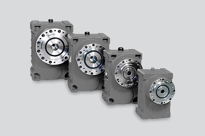 Extruder gearbox series FEX in Z shape