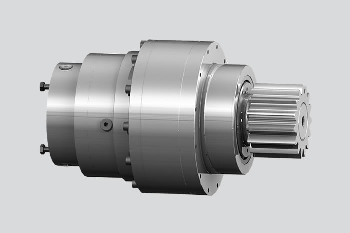 Low-backlash planetary gearbox, master-slave drive