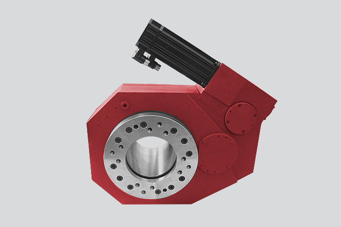 Worm gearbox tailored to the customer's specifications